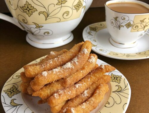 Mini Churros or Shakkarpare