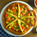 No Yeast Homemade Pizza - with Sausage, Bell Peppers and Baby corns