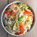 Stir-Fry Noodle Salad | Mushroom Noodle Salad with Lemon Sauce