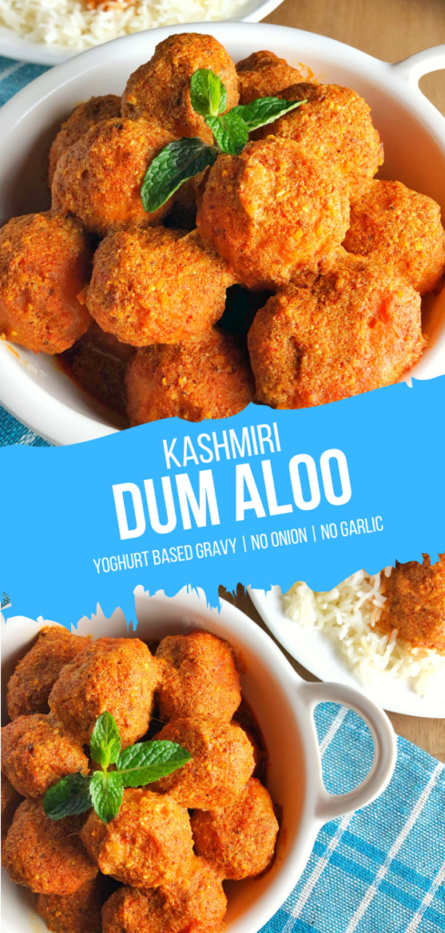 Kashmiri Dum Aloo | Indian Potato Curry
