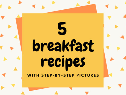 5 BREAKFAST RECIPES EBOOK | ONE YEAR BLOG ANNIVERSARY SPECIAL!
