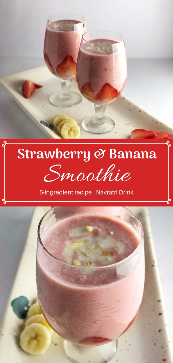 Strawberry Banana Smoothie