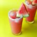 Watermelon and Pomegranate Mocktail | Summer Drinks