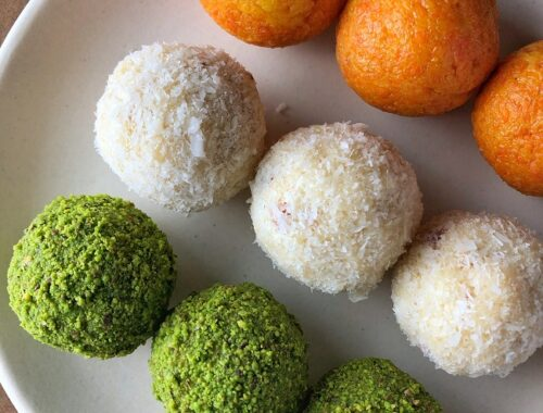 Tricolour Ladoo for Independence Day