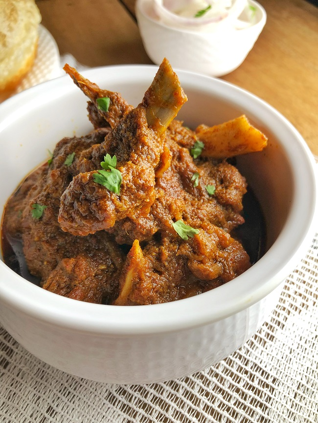 Kosha Mangsho | Bengali Mutton Curry