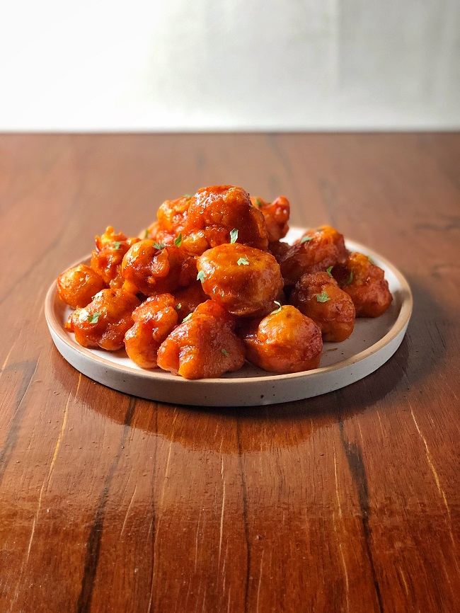 Fried Cauliflower Bites