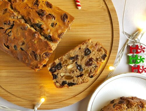 Christmas Fruit Cake | Alcohol-Free Recipe