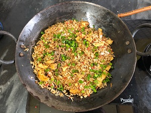 Fried Brown Rice with Egg