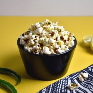 Chilli And Lemon Popcorn
