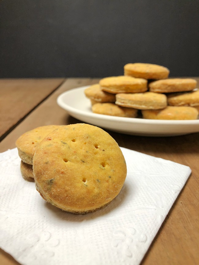 Quick Parmesan Biscuits Recipe - Made without Eggs and Butter