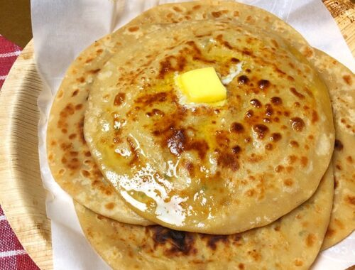 How To Make Dhaba Style Aloo Paratha
