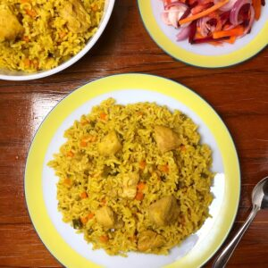 Pressure Cooker Chicken and Rice | Lazy Recipes