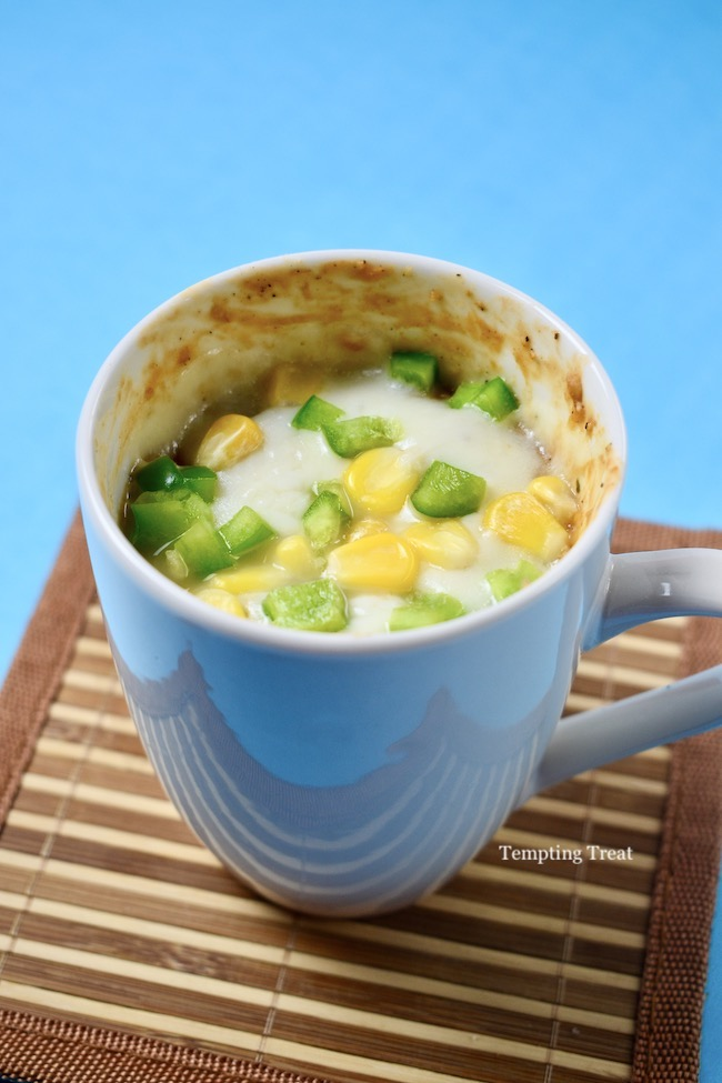 90 Seconds Microwave Pizza Oatmeal In A Mug